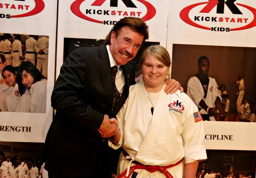Erin Chuck Norris Kick Start