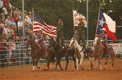 All American Cowgirl Chicks Cowgirl Equestrian Drill Team